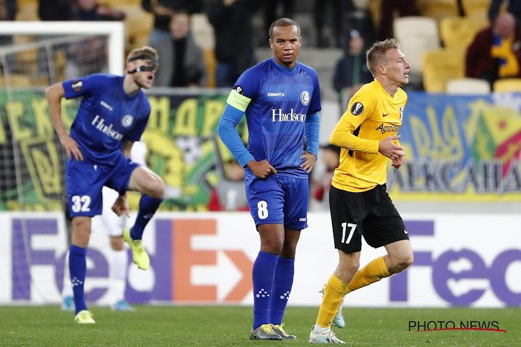 Europa League : La Gantoise partage en Ukraine, Manchester United cale à l'AZ