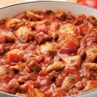 Iberian-Style Sausage & Chicken Ragù