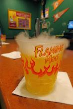 Photo: Flaming Moe at Moe's Tavern