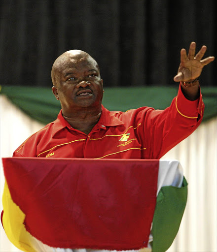 UDM leader Bantu Holomisa has expressed his desire of becoming the country's deputy president.