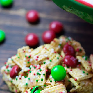 Christmas Crunch Cereal Bars.