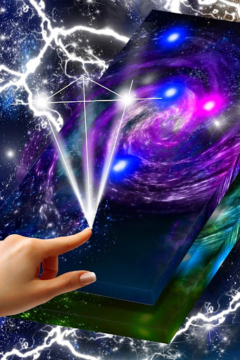 Glowing Universe Live Wallpaper