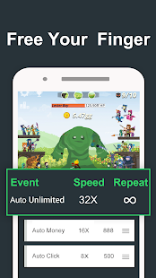 Auto Clicker for Tapventures - náhled