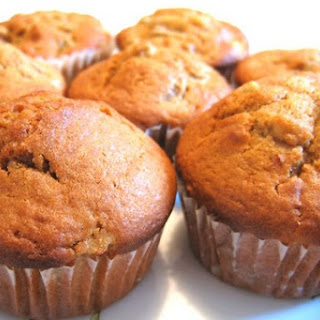 Pear Muffins on the fermented baked milk.