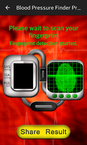 android Blood Pressure Finder Prank Screenshot 3