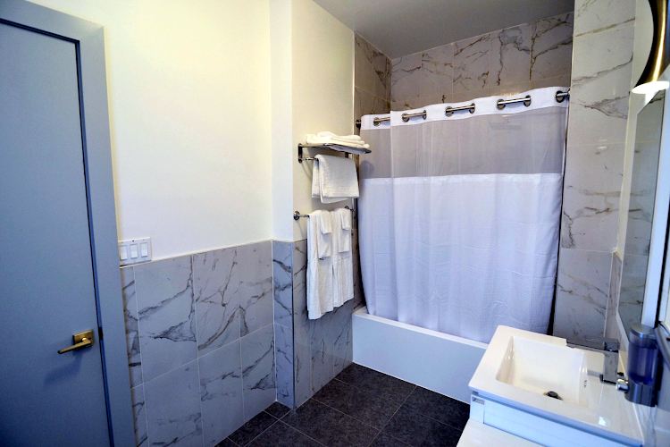 Bathroom at Prospect Heights Apartments