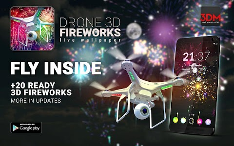 Drone 3D Fireworks screenshot 4