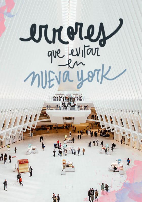 errores a evitar en Nueva York