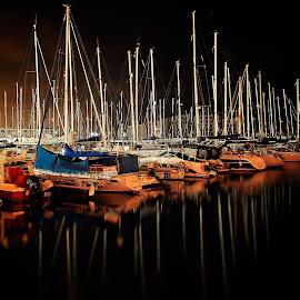marina by Catalino Adolfo   Jr. - Transportation Boats ( transportation )