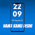 YOUR NAME - Costum text Livewallpaper icon