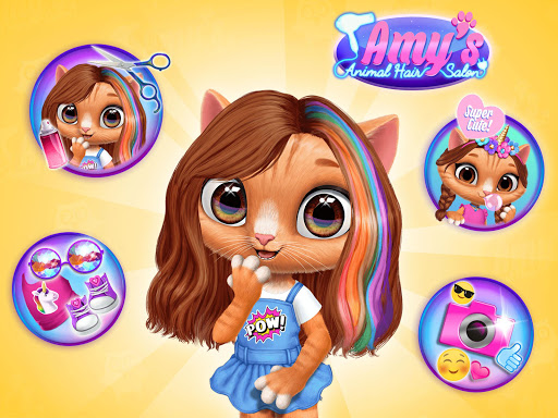 Amy's Animal Hair Salon - Cat Fashion & Hairstyles 4.0.50003 screenshots 10