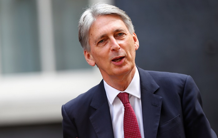 Britain's Chancellor of the Exchequer, Philip Hammond. File photo.