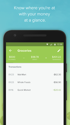 EveryDollar: Monthly Expense Tracker & Manager screenshot