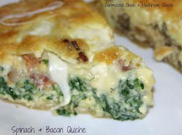 Basic Quiche - you pick the main ingredients