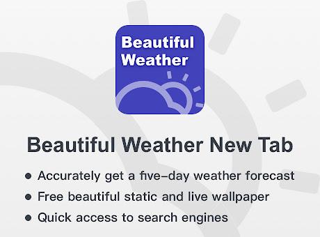 Infinity Weather - Beautiful Weather New Tab