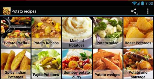Potato recipes 2.0 screenshots 1