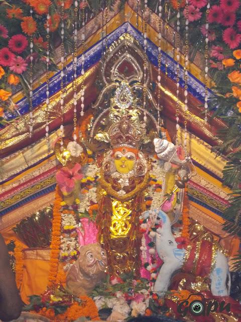 Maa Mahalaxmi Besha of Maa Bhadrakali