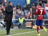 Diego Simeone espère qu'Antoine Griezmann restera