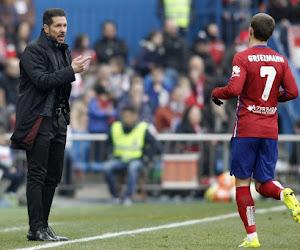 """Simeone réagit à un éventuel départ de Griezmann : """"Je ne peux pas imaginer l'Atlético sans lui"""""""