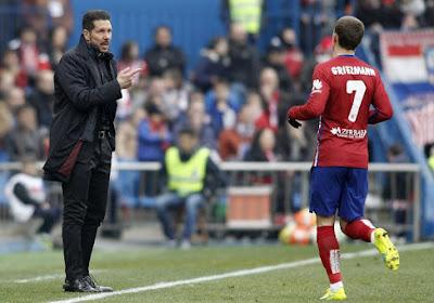 """Diego Simeone admiratif : """"Toute l'équipe fonctionne autour de son cerveau"""""""