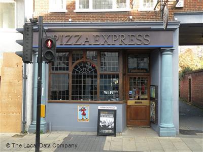 Pizzaexpress On Stert Street Restaurant Italian In