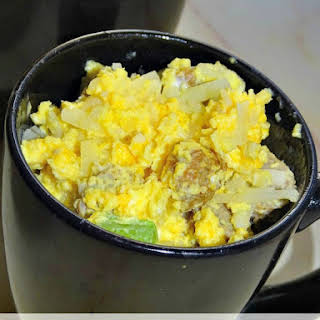 Lightened Up Sausage, Egg & Cheese in a Mug.