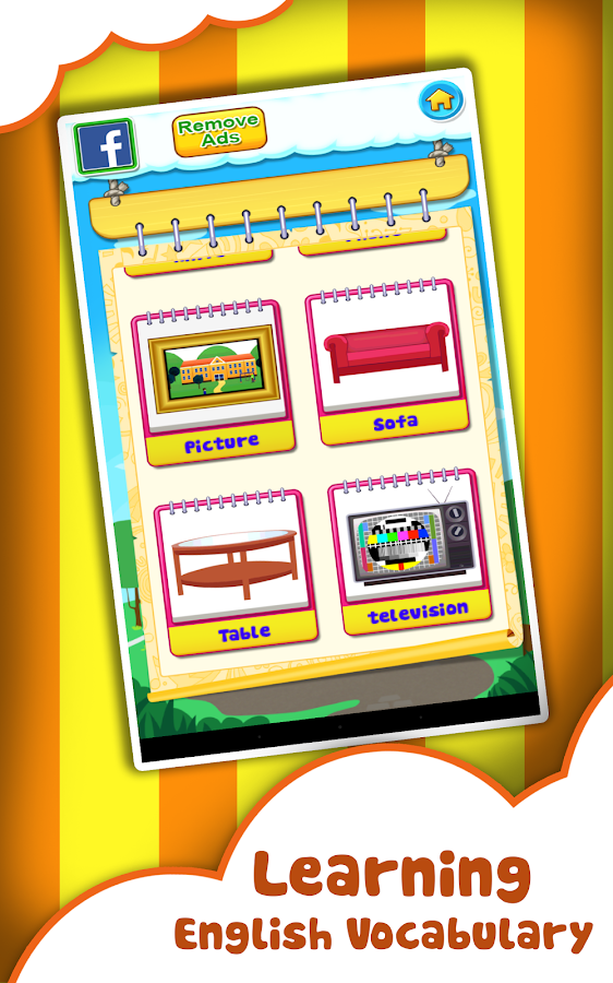 Kids Learning Word Games Prem Screenshot