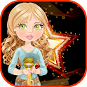 Super Star Girl Party Dress Up icon