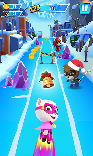 Talking Tom Hero Dash - Run Game screenshots 1