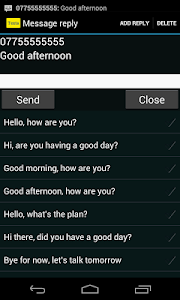 Messaging screenshot 1