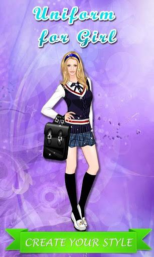 Uniform for Girl: Dressup