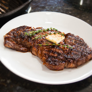 Perfectly Pan Seared Ribeye Steak Recipe
