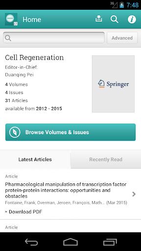 Cell Regeneration