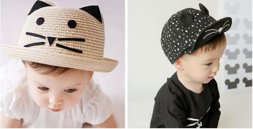 chapeaux enfants chapeau melon paille et casquette
