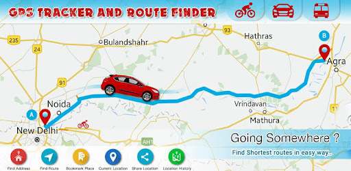 route finder apps on google play. Black Bedroom Furniture Sets. Home Design Ideas