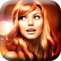 Hair Color Change Photo Booth icon