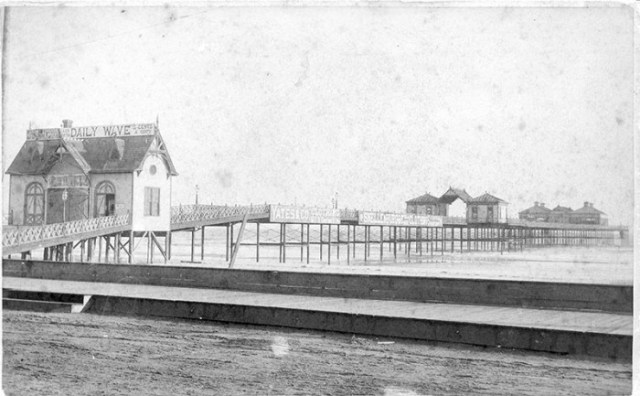 The original Iron Pier.