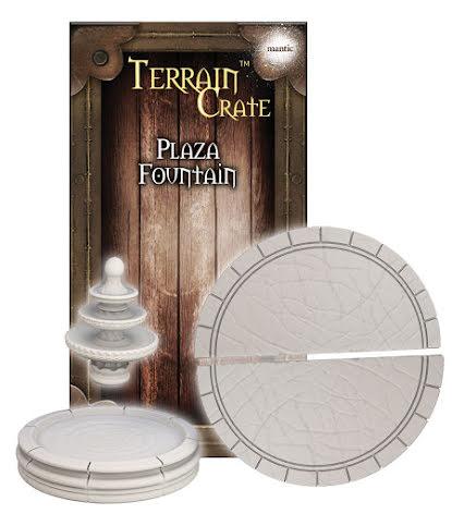 TERRAIN CRATE: Plaza Fountain