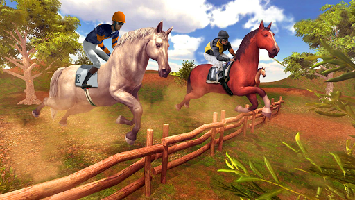 Horse Racing Endless Horse Riding Stunts 1.0.3 screenshots 2