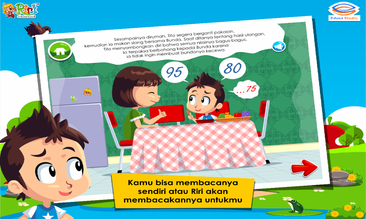 Cerita Anak Kejujuran Tito Android Apps On Google Play