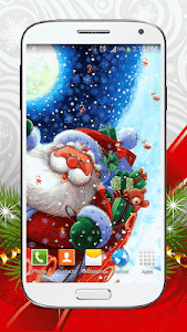 Christmas Live Wallpaper screenshot 3
