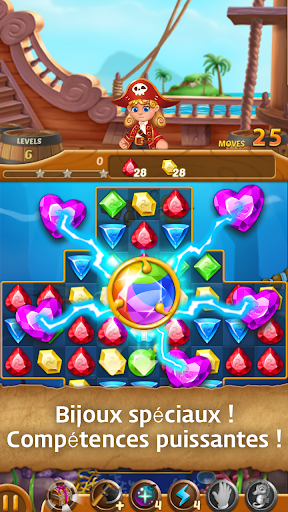 Télécharger Jewels Ocean : Une aventure de puzzle Match3 mod apk screenshots 3