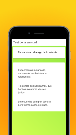 Test de la Amistad- screenshot
