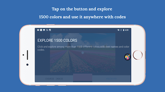 Image color identifier Screenshot