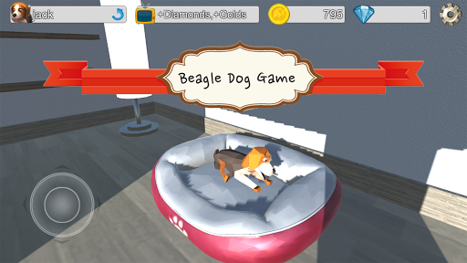 Lovely Beagle Dog Game android2mod screenshots 1