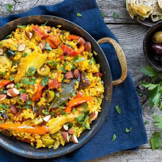 Summer Vegetable Paella