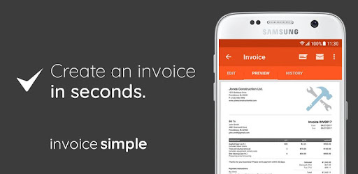 Invoice Estimate On The Go Apps On Google Play - Invoice template for android phone