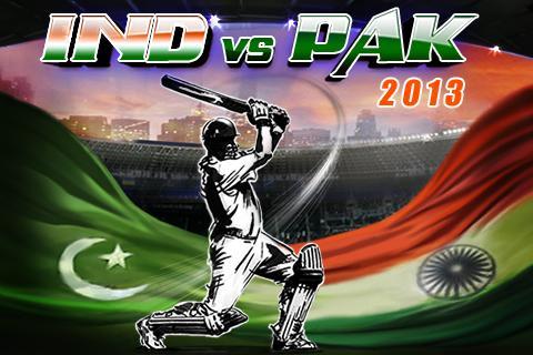India vs Pakistan 2013- screenshot