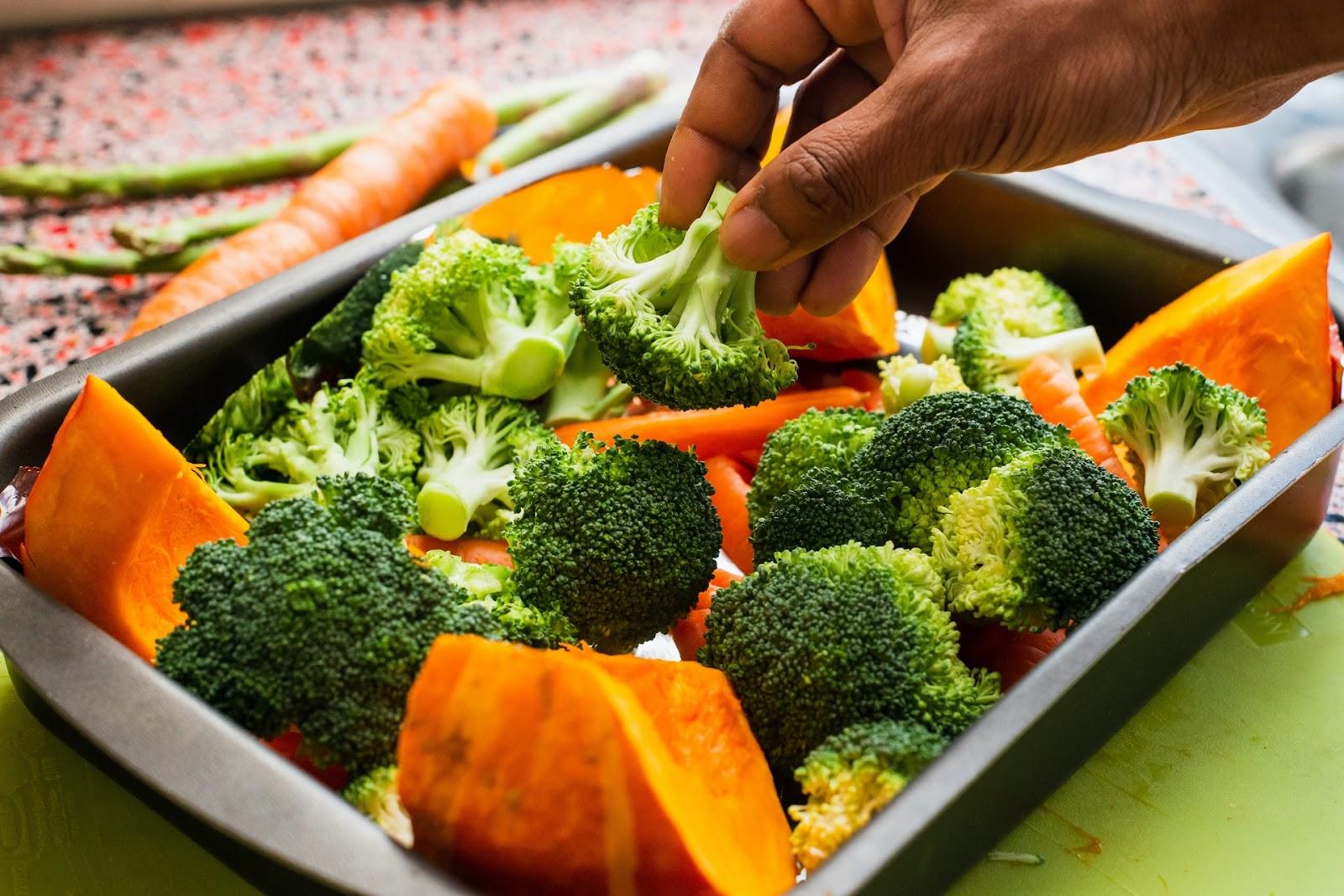 Kann ich Brokkoli braten?