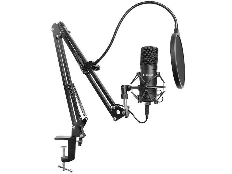 Sandberg Streamer USB Mikrofon Kit